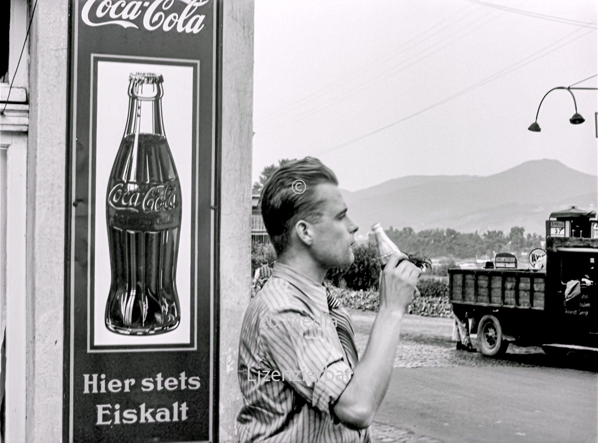 Coca Cola in Deutschland 1937