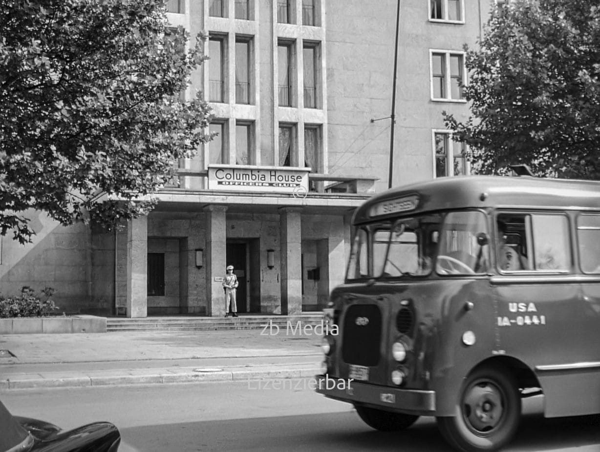 Hotel Columbia House Officers Club Berlin 1955