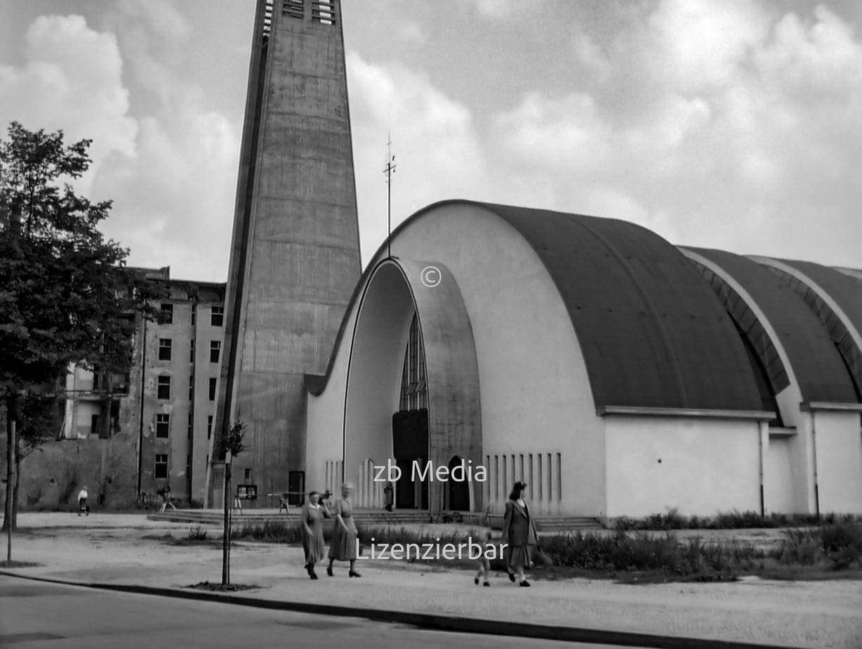 St. Canisius-Kirche Berlin 1955