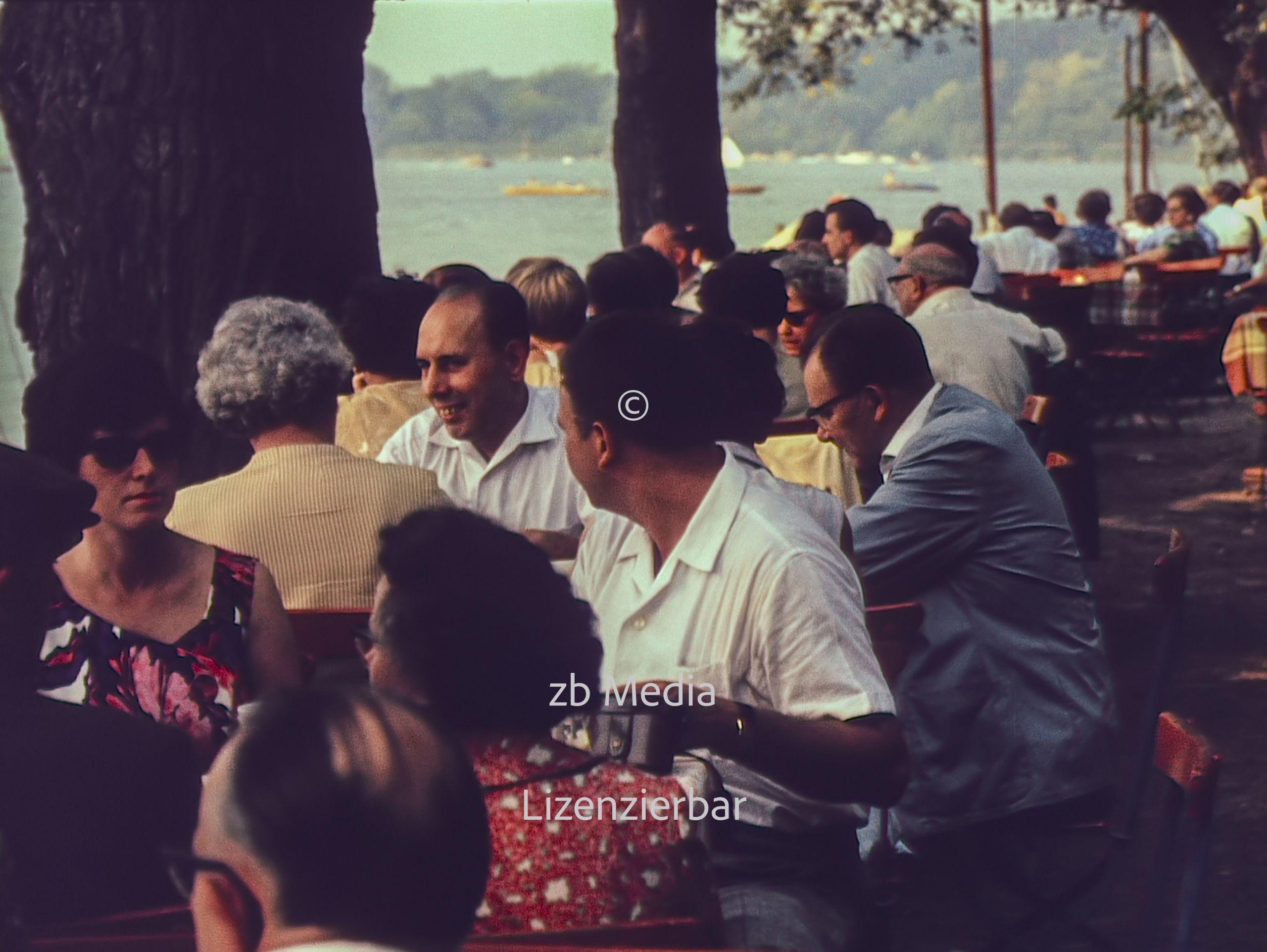Am Wannsee in Berlin 1961