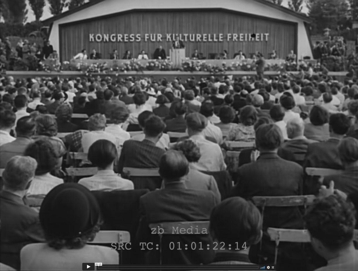 Kongress für Kulturelle Freiheit Berlin 1950
