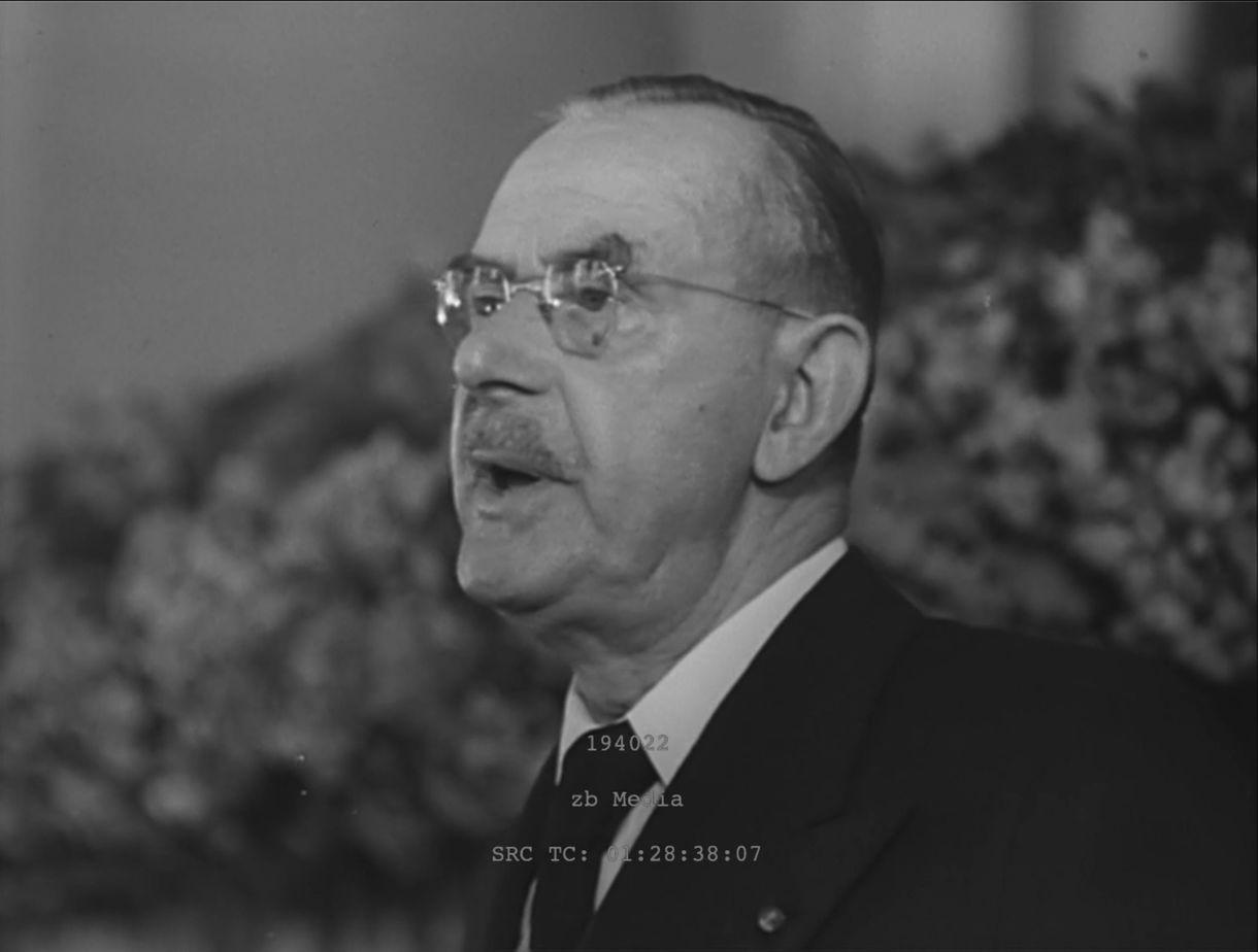 Thomas Mann Frankfurt 1949