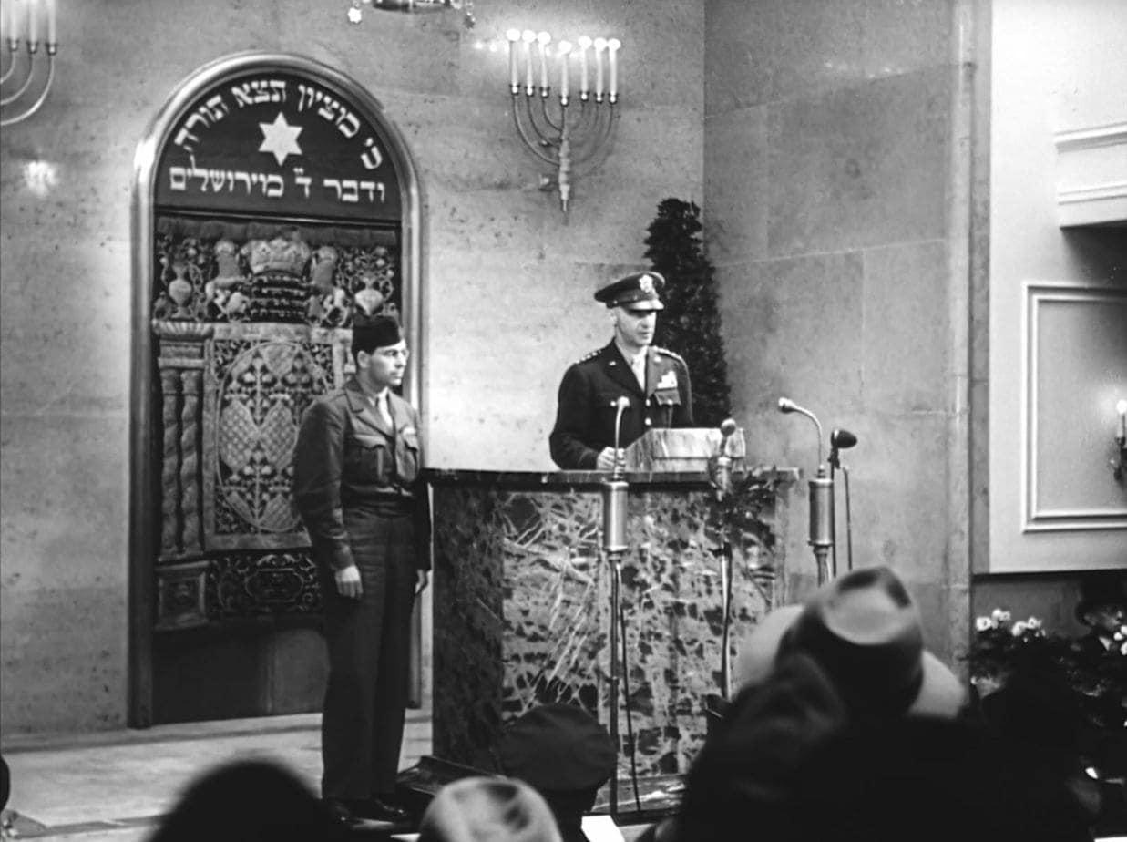 Réouverture de la synagogue de Munich en 1947