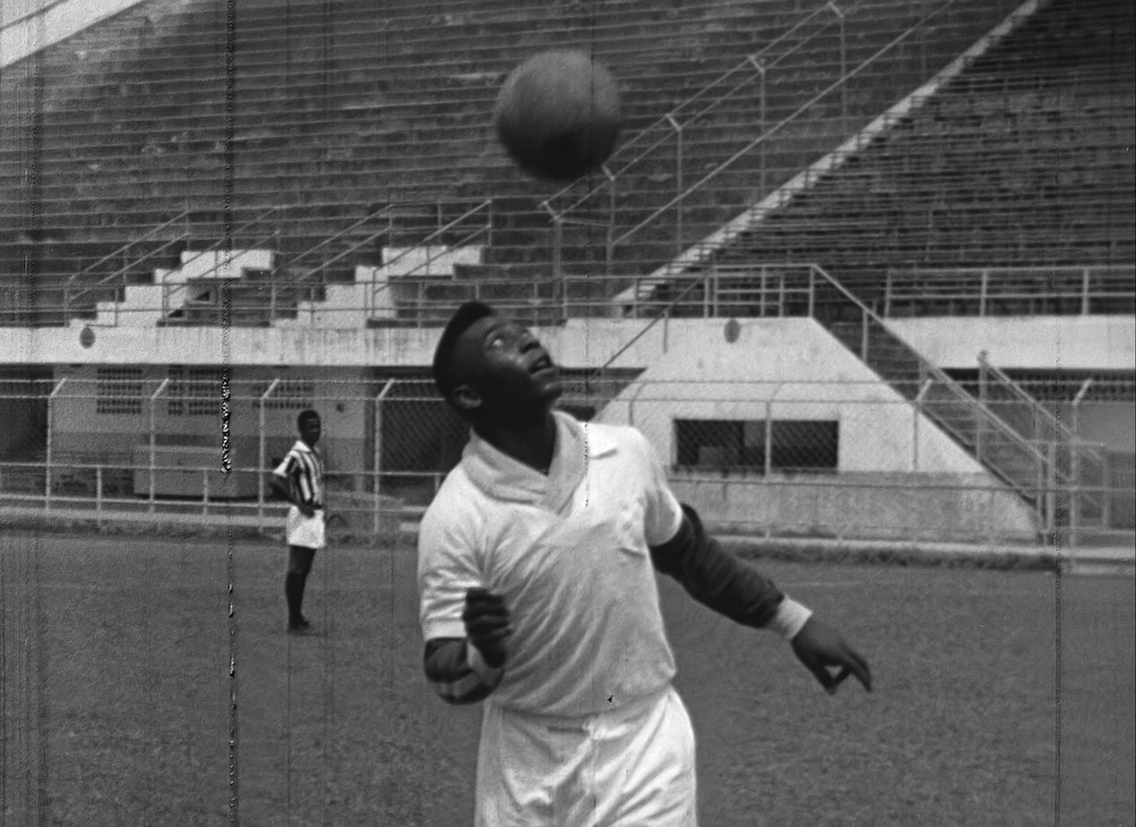 Fußballstar Pele 1960 in Santos
