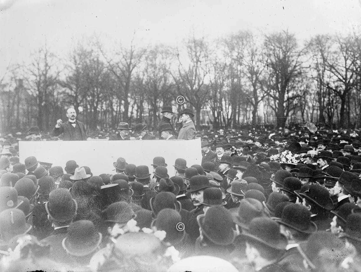 Kundgebung in Berlin 1919