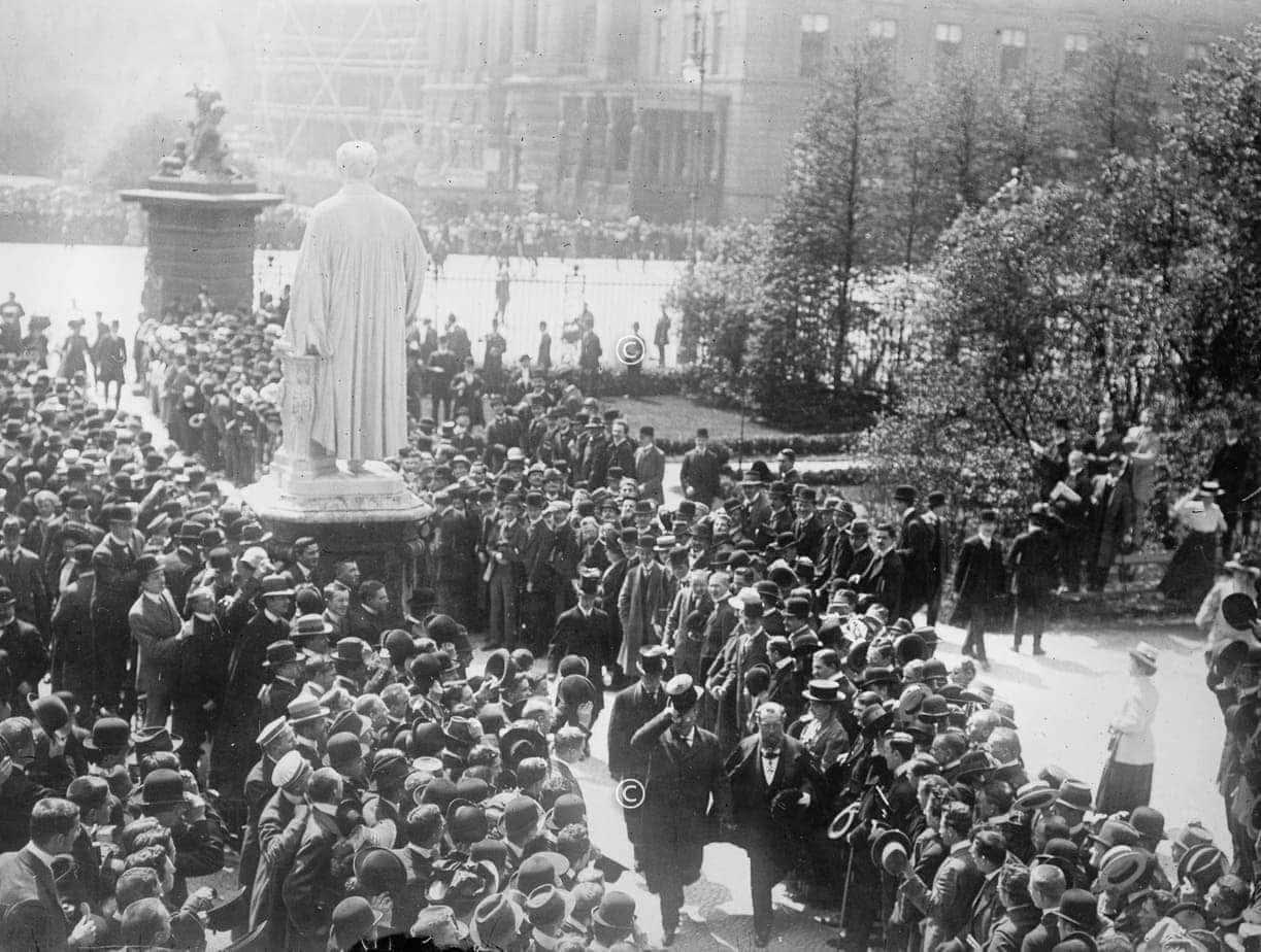 Roosevelt in Berlin 1919