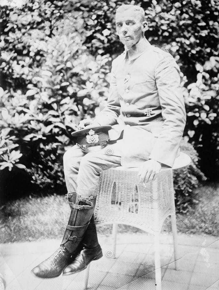 Hellmuth von Mücke in Berlin 1915