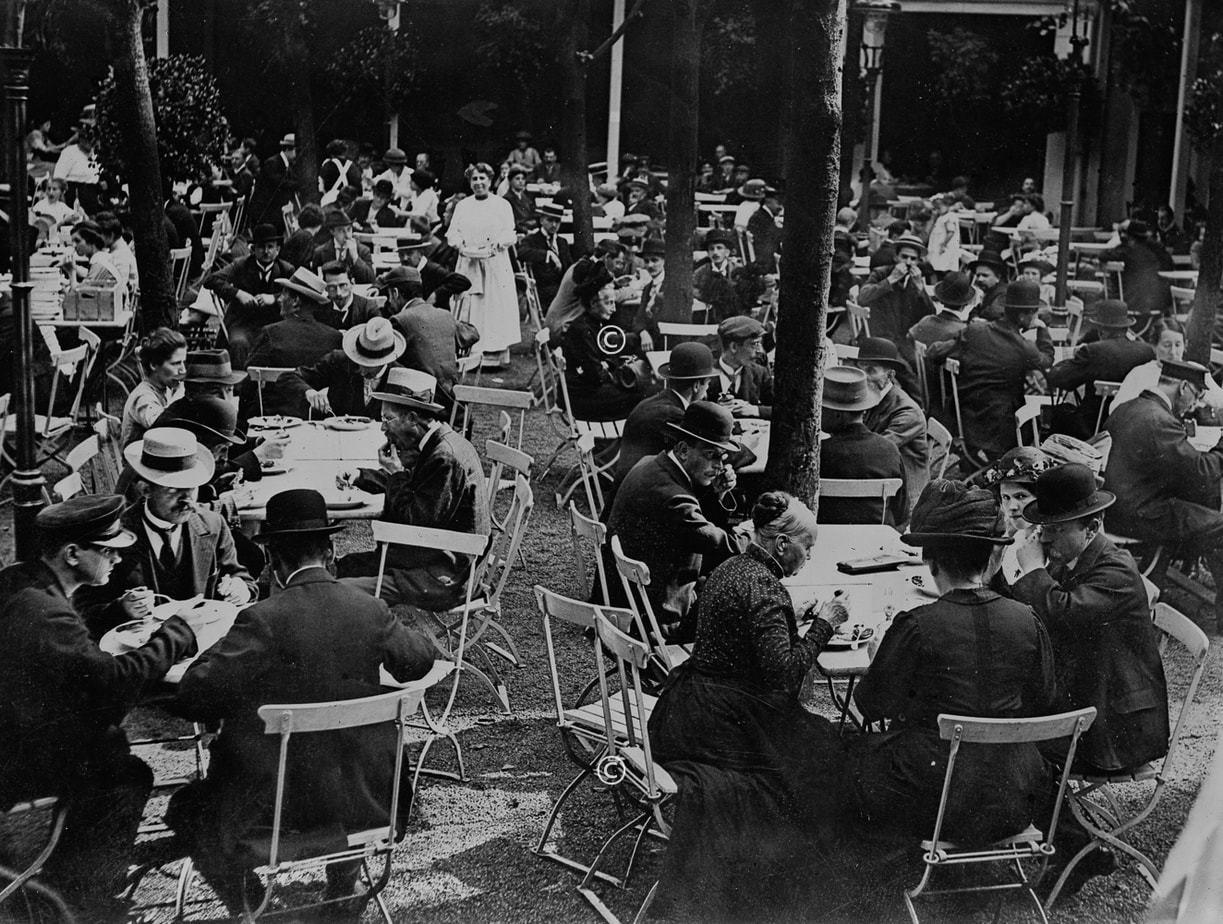 Gastwirtschaft in Berlin 1918