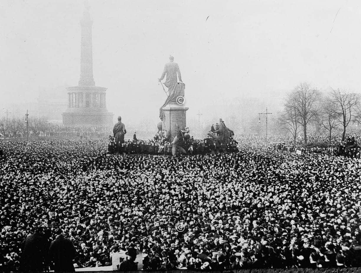 Kundgebung in Berlin 1923