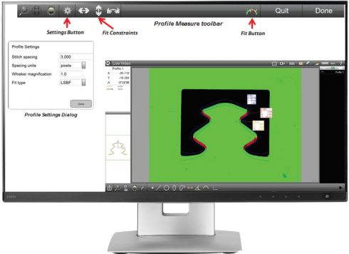 DXF-3 Software Messtechnik