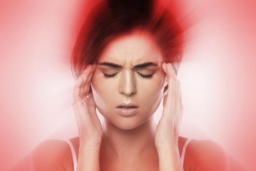 Kvinde med hjernerystelse