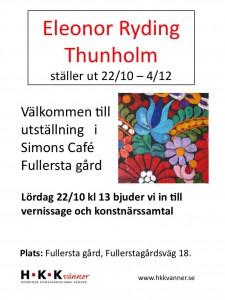 AffischEleonor Ryding