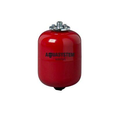 Expansionskärl till VVS avgasning tryckhållning