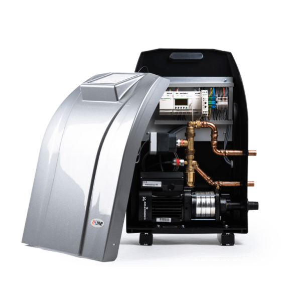 H-line tryckhållingsenhet och avgasare o2x