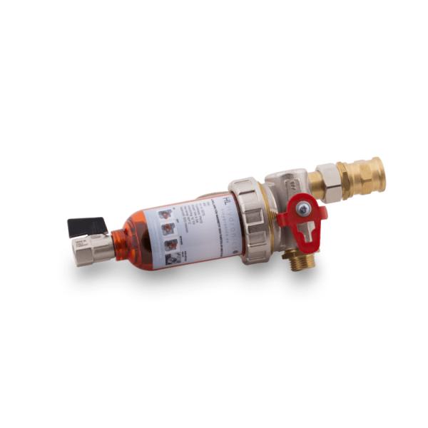 Filter till VVS avgasning tryckhållning