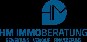 Das Logo der HM IMMOBERATUNG in Nürnberg