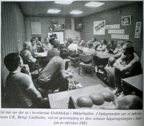 I klubbrummet 1983