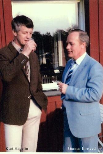 Kurt hagelin och Gunnar Linsved
