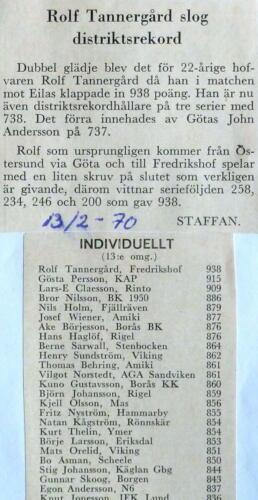 Rolf Tannergård 1970
