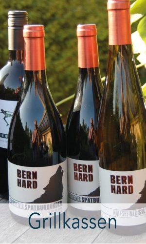 Grillkassen – Smagekasse med 6 flasker blandet vin