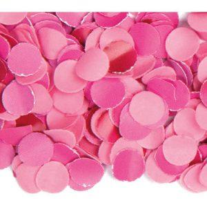 Roze confetti 100g