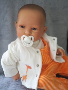 Oranje set baby