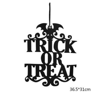 Halloween hanger trick or treat