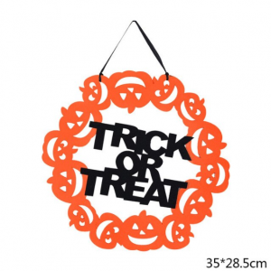 Halloween hanger trick or treat