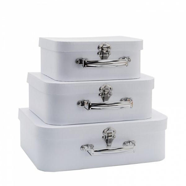 Witte koffertjes