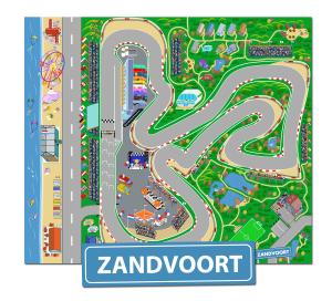 Speelkleed Circuit van Zandvoort