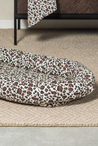 Babynestje Leopard 90x52cm