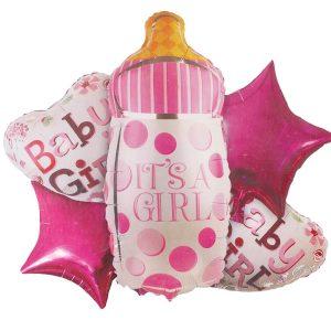 geboorteballonnen girl