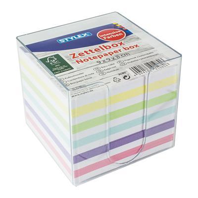 notitieblok kleurtjes
