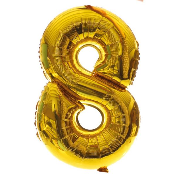 grote cijferballon 8