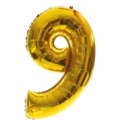 grote cijferballon 9