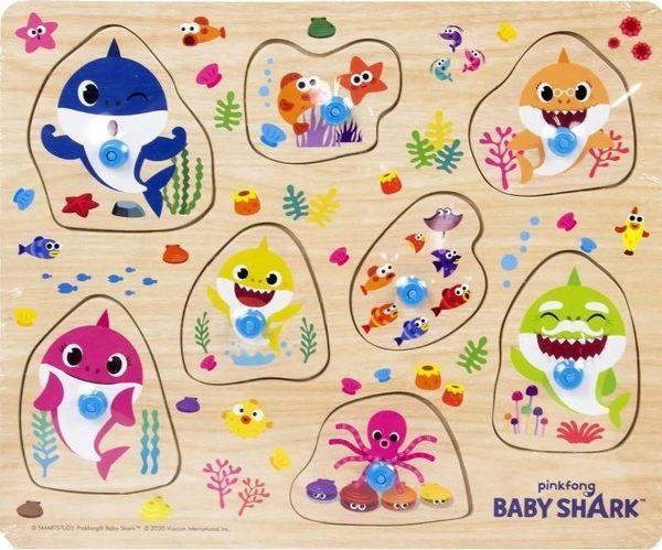 Babyshark puzzel