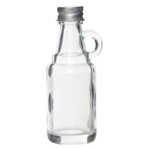 glazen flesjes jenever