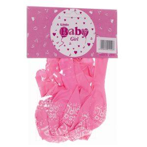 it's a girl ballonnen roze