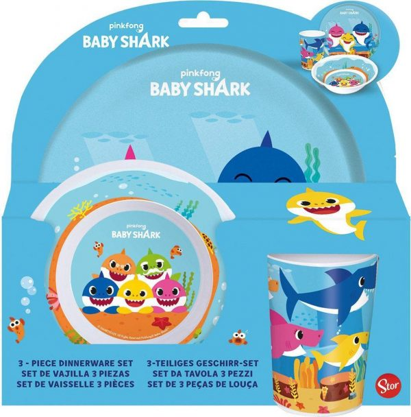 servies baby shark