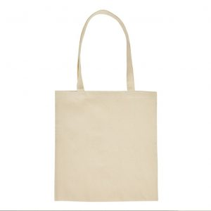 tote bag naturel long handles
