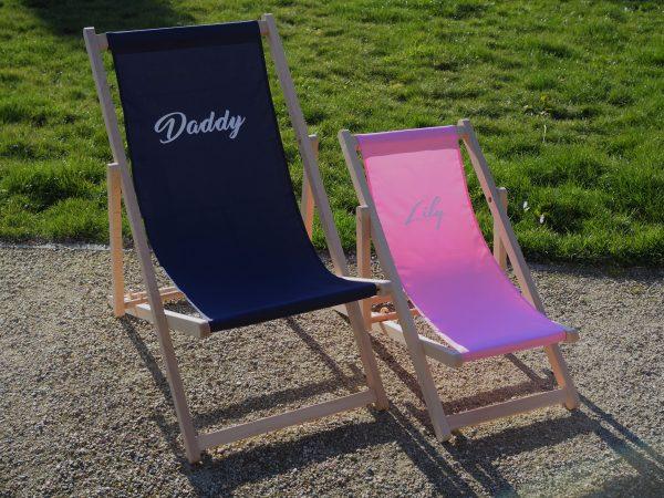 strandstoel met naam