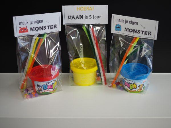 Traktatie monster kit