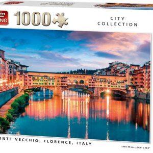 king puzzel ponte vecchio florence italy