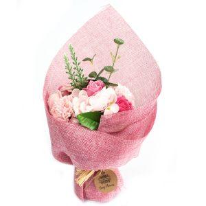 zeepbloemen boeket