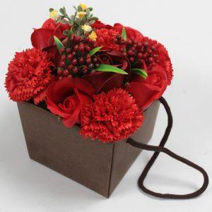 Zeepbloemen boeket geschenk vrouw