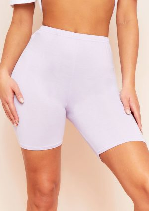 Tilly Lilac Basic Cycle Shorts