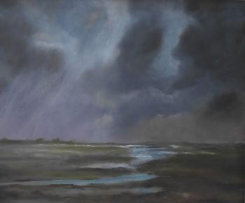 #100 Norfolk Marsh 51x61cm Hollingsworth Paul
