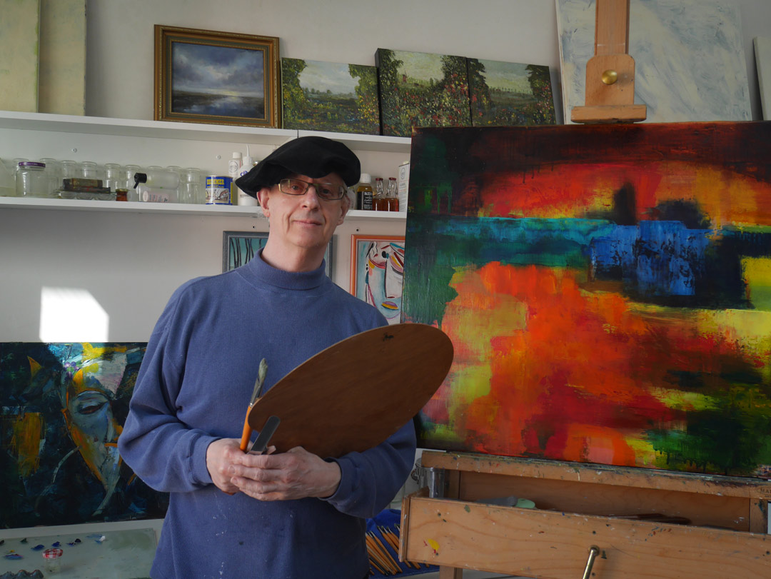 Artist Paul Hollingsworth