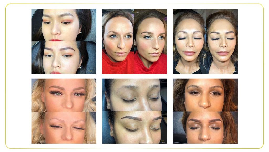 permanente make-up wenkbrauwen