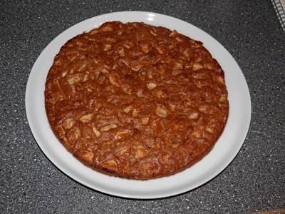 Krydret æblekage